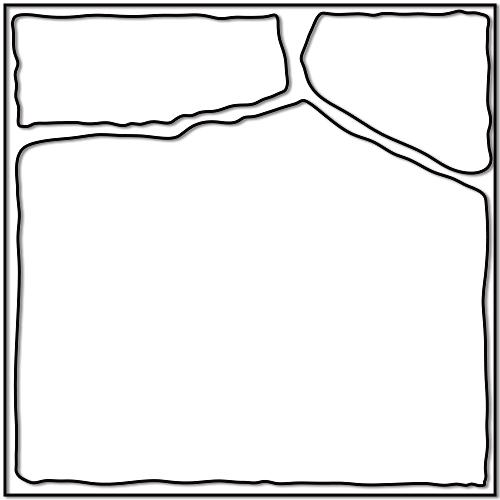 产品边框素材模板